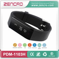 Bluetooth 4 0 Activity Tracker Pedometer Smart Heart Rate Bracelet Wristband for Sports