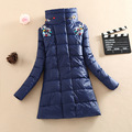 2016 Winter Latest Fashion Ladies Coat Solid color Loose Big yards Leisure Keep Warm Women Medium