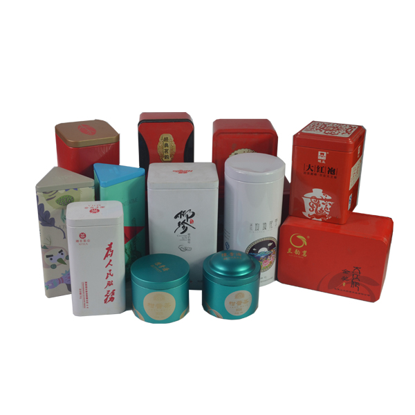 professional customized puer tea gift tin can packaging