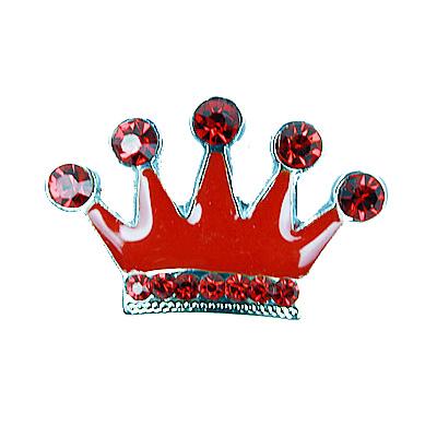 10mm DIY Rhinestone Crown Letter Charms Dog Name Tag Dog Collar Pendant