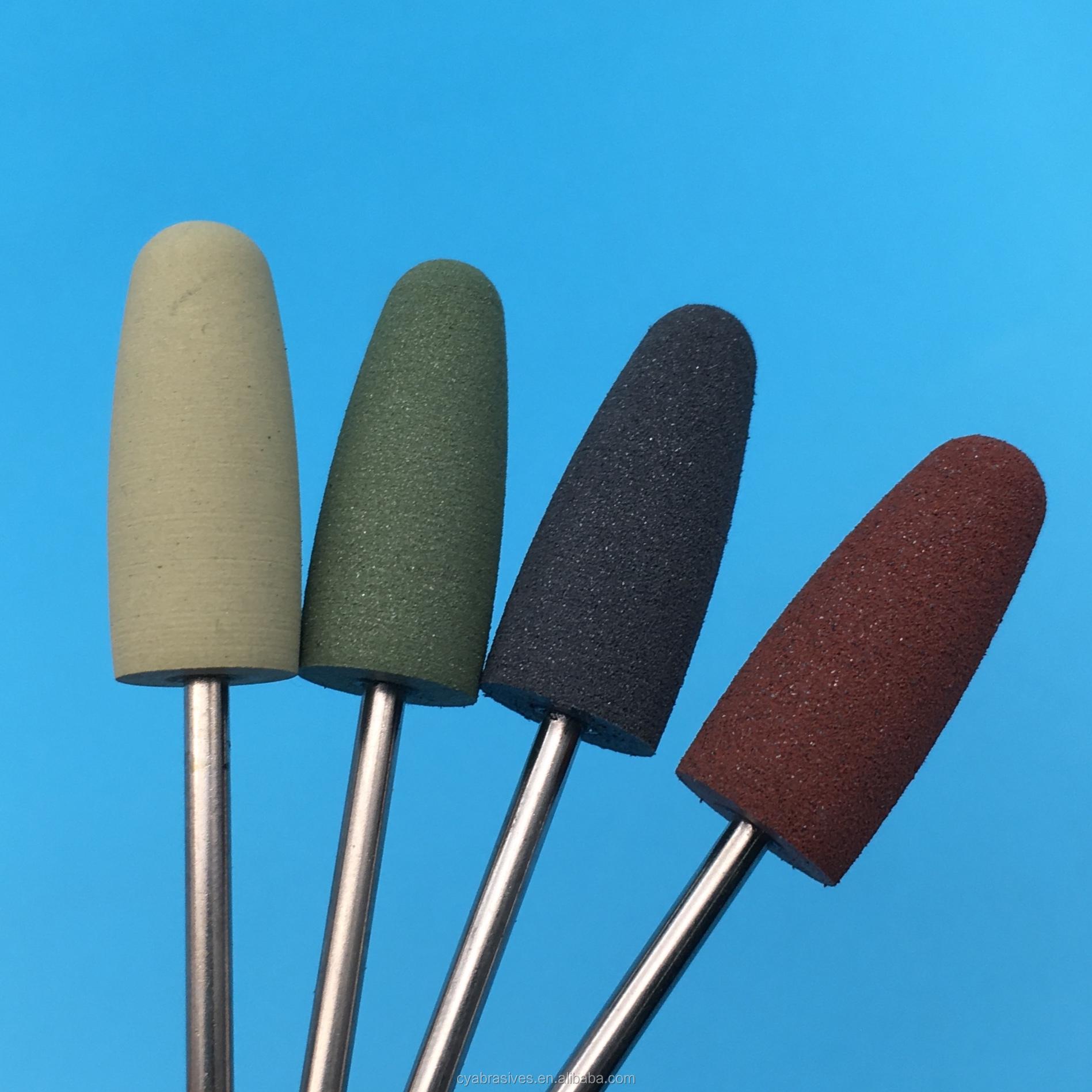 Самые продаваемые 2020 силиконовые насадки для полировки ногтей набор для дизайна ногтей