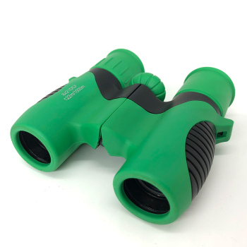 Pioneer Shock Proof 8x21 Kids Binoculars Set for Outdoor with Real Optics
