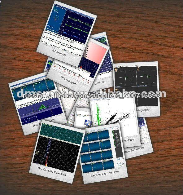 DMS300-3A Холтеру CardioScan Программное обеспечение