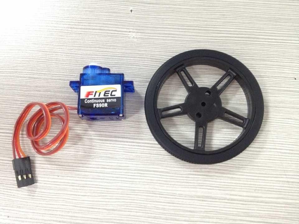 Серводвигатель FITEC/FEETECH FS90R Super Micro 9g с непрерывным вращением  <span style=