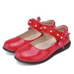 Детская школьная кожаная обувь для девочек