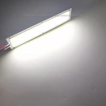 Светодиодная лента COB, 12 В, 12 Вт, 1000 лм, естественный теплый белый и синий цвет, для самостоятельного изготовления автомобильных ламп, Светоди...(Китай)