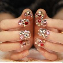100pcs Diamond 3d nail art bijoux ongles strass ongles decoracion de unas nail glitter decorazioni unghie