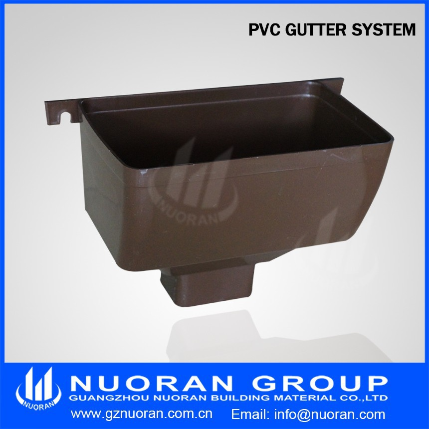 Vinyl Downspouts And Gutters Pvc Rain Gutter System Inside