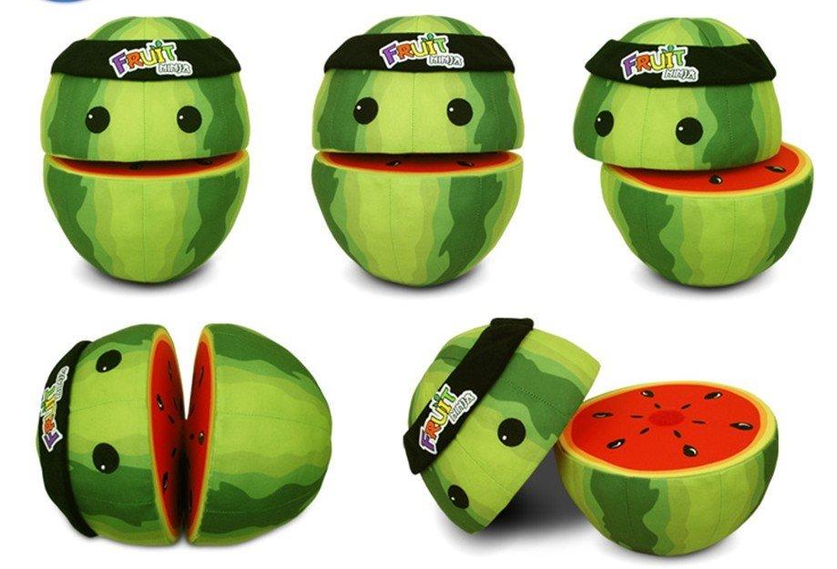 Watermelon Cartoon Images Ninja toy Watermelon Plush