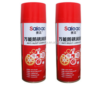 China Manufacturer High Quality Long-Term Car Oil Anti Rust Lubricant Spray