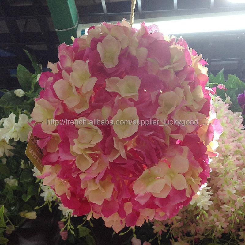 d coration de mariage rose artificielle boule de fleurs turquoise gros fleurs guirlande de. Black Bedroom Furniture Sets. Home Design Ideas