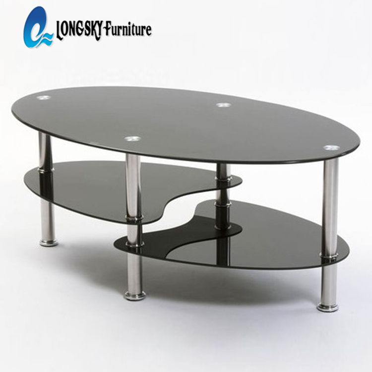 Oval Tempered Glass Coffee Table Center Table Buy Glass Coffee Table Cheap Glass Coffee Table Oval Glass Top Coffee Table Product On Alibaba Com