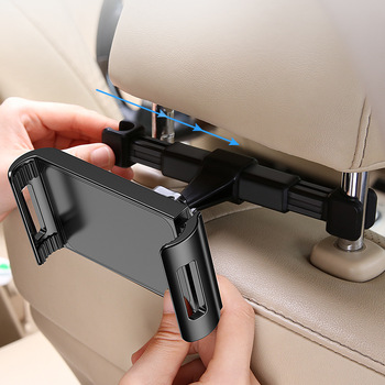 RAXFLY Anti Slip 360 Rotation Universal Car Backseat Stand Tablet Phone Holder For iPad