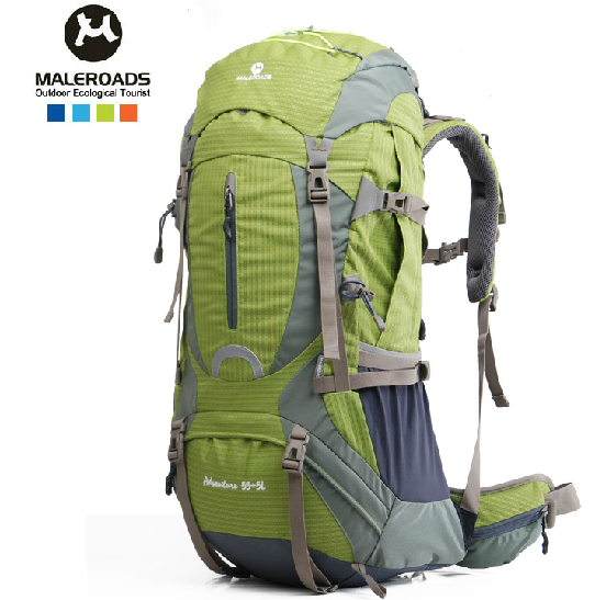 2015 NEW Professional Outdoor sport bag large shoulders backpack waterproof nylon 50l 60l for camping hiking