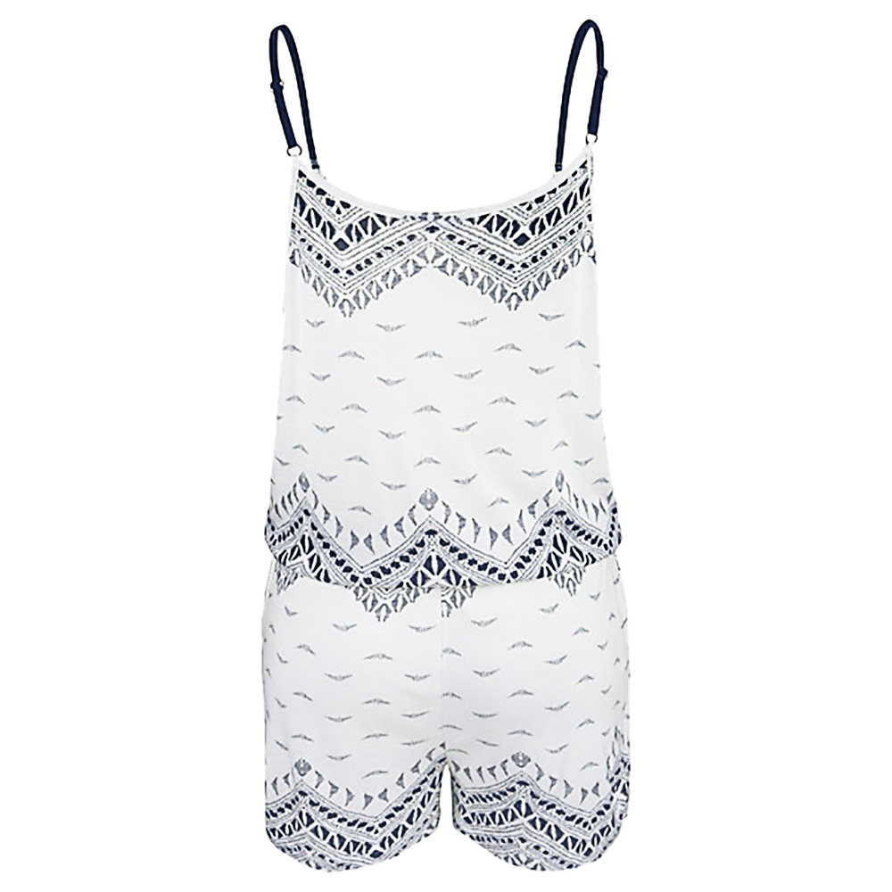 0eac87001d 2019 2018 Womens Sexy Playsuits Summer Holiday Strap Mini Playsuit Ladies  Sleeveless Fashion Bohemian Style Shorts Beach Femininas From Crutchline