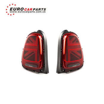 BM F55 F56 F57 led UK flag rear lights for F55 F56 F57 LED rear lamp tail lamp red gray and black color tail lights