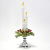 led christmas tree candle light bulb with battery operated flameless glitter candles