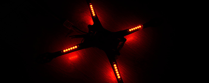 Matek 2812ARM Light-6 LED Board Distribution board for FPV LED Drone ARM Light