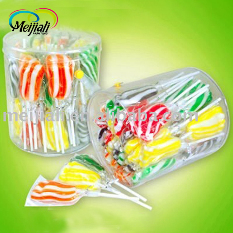 foot shape lollipop candy