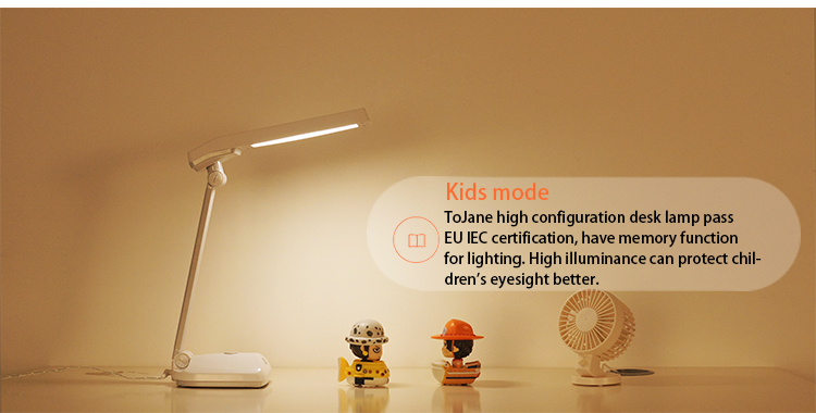 Diligent Led Desk Lamp Foldable Dimmable Touch Table Lamp With Calendar Temperature Alarm Clock Table Light Night Lights Led Lamps Led Table Lamps