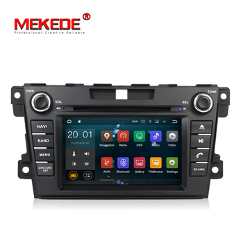 Mekede HD1024*600 Capaciti Cortex A9 Quad core Android 7.1 car dvd player for Mazda CX7 With Radio Digital TV WiFi BT GPS