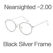 HUHAITANG, круглые очки для близорукости, женские, люксовый бренд, анти-синий свет, компьютерные очки для глаз, оправы для мужчин, прозрачные очки...(Китай)