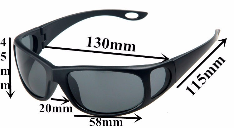 534902dbea236 JIANGTUN Side Design Fishing Polarized Sunglasses Polaroid Sport Glasses  Brand Designer Driving Anti-UV Oculos De Sol Masculino