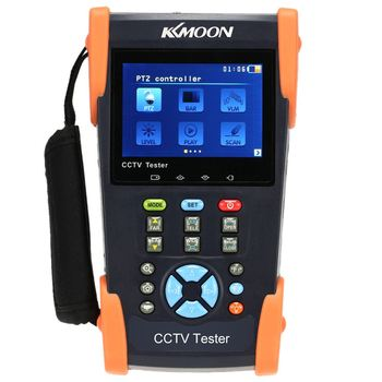 "3.5"" Inch LCD Monitor CCTV Camera Tester Video PTZ RS485 Tester Meter For on-site Installation and Maintenance of Analog Camera"