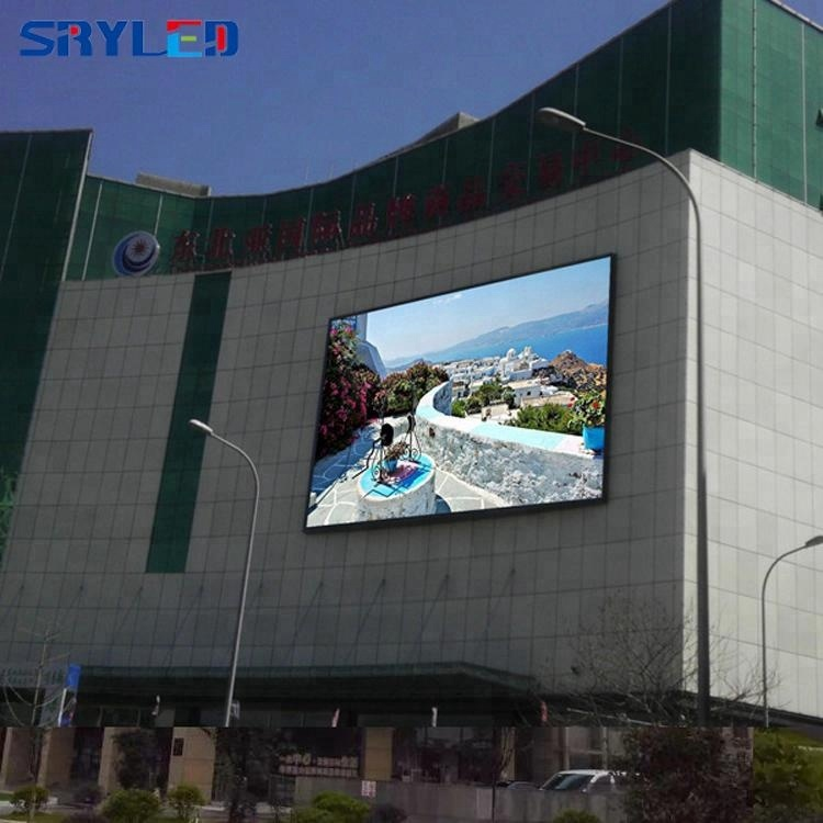 LED Display Screen Panel SMD2727 P5 Full Color LED Module Outdoor