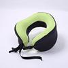 Travel neck pillow light green