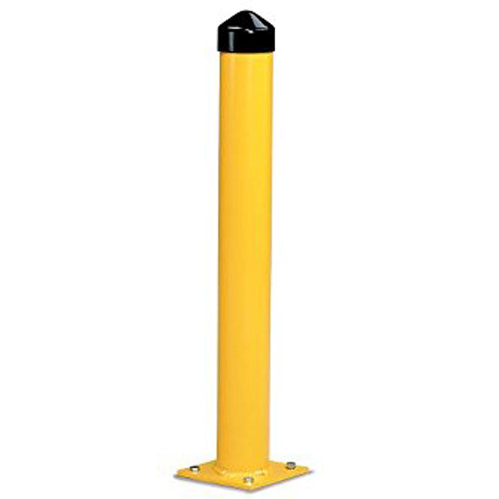 Вертикальные защитные поручни с порошковым покрытием
