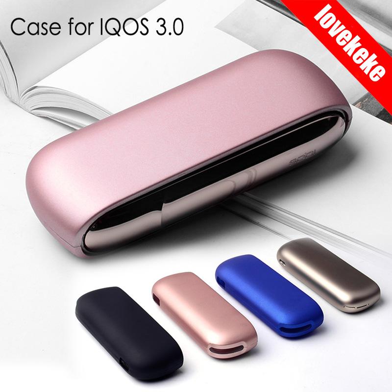 Новый прозрачный красочный цветной чехол lovekeke для ПК, чехол для защиты от царапин для использования с IQOS 3,0, в наличии на складе