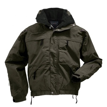 Winter safety military jacket army uniform jacket windbreaker two-piece Army Green men bomber jacket