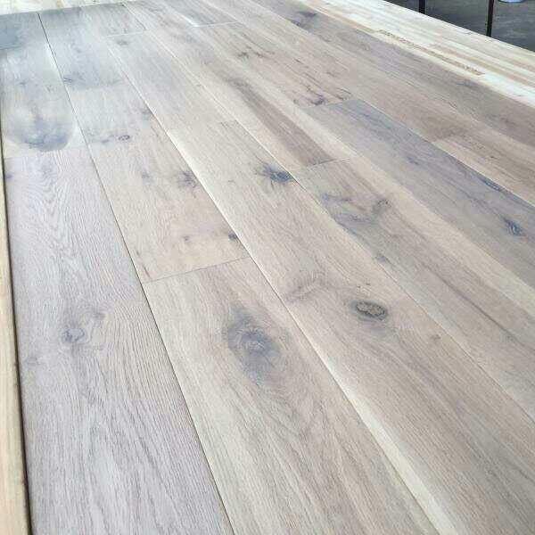 Grey Rustic Grade European Oak Hardwood
