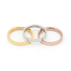 Hand Ring High Quality Ring Wholesale High Quality Hand Polished 3mm Steel Ring Blanks