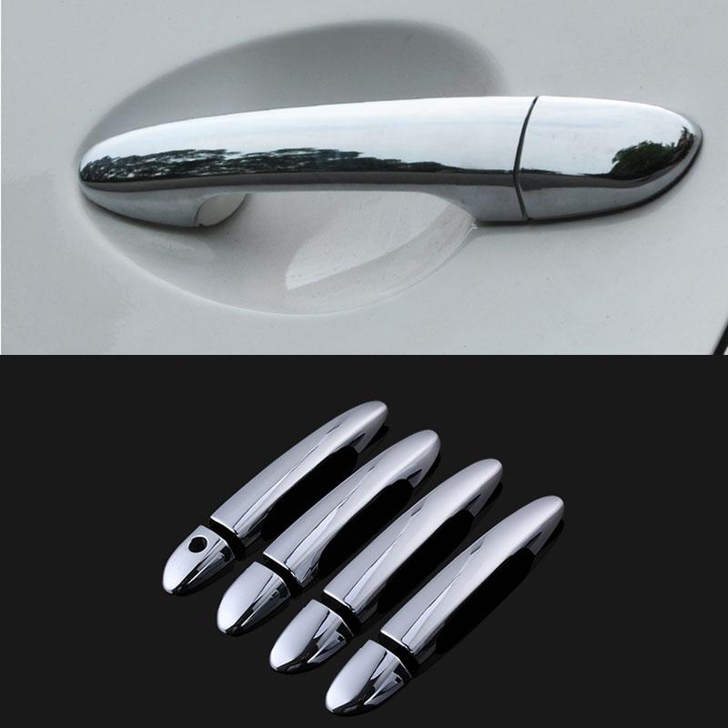 Accessories fit for 2010 2011 2012 mazda 2 3 6 chrome side - 2010 mazda 3 interior door handle ...