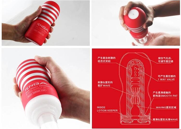 Sex Toys For Men Deep Throat Sex Cup TENGA Male Masturbator Adult Sex Products Silicone Vagina Pocket sexy Pussy Original Japan-toys for men-sex toys for mentenga male masturbator - AliExpress - 웹