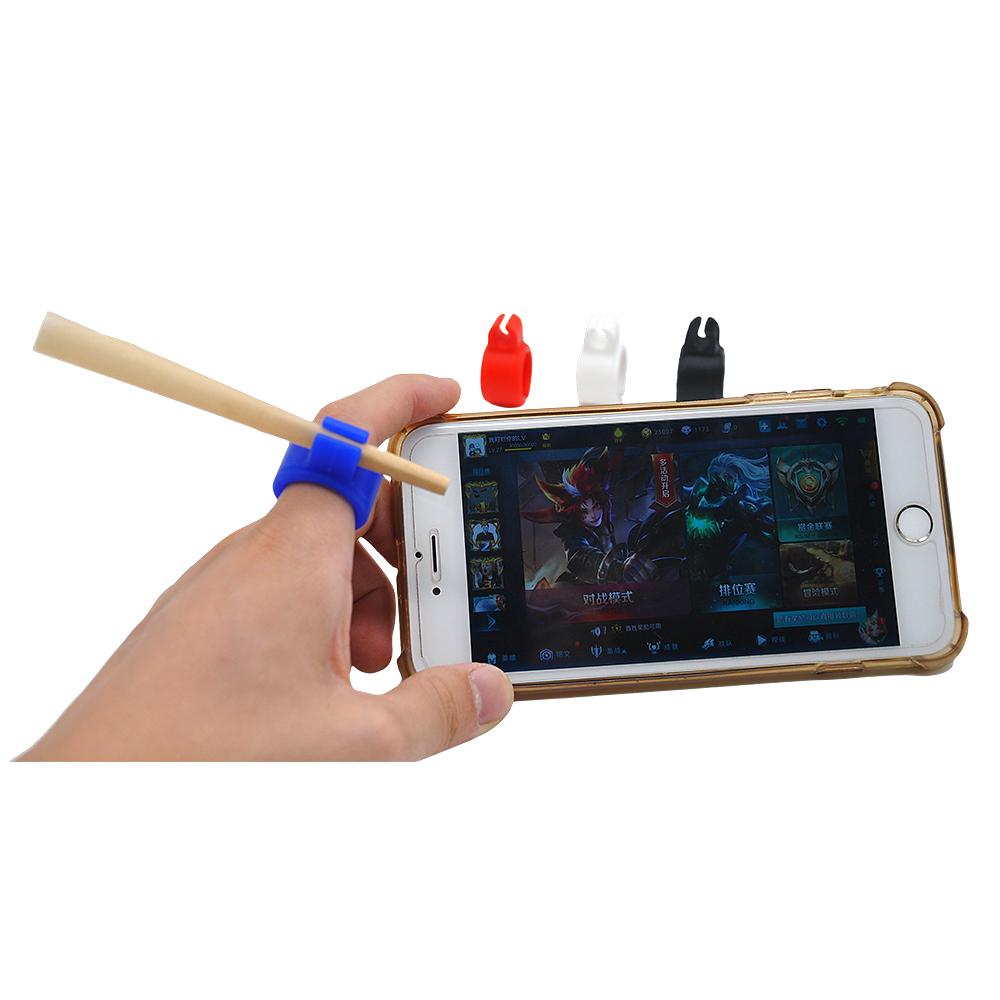 STARBUSS Регулируемый кольцевой держатель сигареты для пальцев идеальный гаджет для консоли, ПК геймеров, гитары
