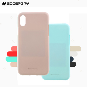 Mercury Luxury Ultra Thin Phone Case For iPhone 6 7 8 X XR XS 11 12 Pro Max Goospery Soft Feeling Jelly Tpu Case