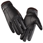 Winter Warm Touch Screen Gloves Waterproof Windproof Thickening Men's Leather Gloves