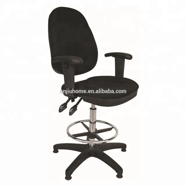 Quality Fabric Office Drafting Chair Height Adjustable Operator Chair Steel Frame Office Chair Buy Fabric Drafting Chair Swivel Operator Chair High Back Bar Chair Product On Alibaba Com