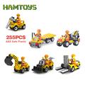 JIE STAR City Engineering Series Building Blocks Toys for Children Kids Educational Blocks Toys Best Christmas