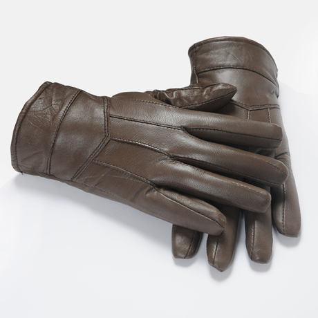 Men's leather glove genuine winter cheap glove for fashion