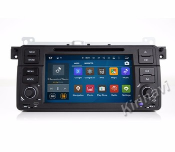 Kirinavi Android 10.0.1 car audio dvd player gps multimedia system for bmw e46 1998-2005 navigation with bluetooth
