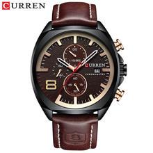 Мужские наручные часы CURREN, водонепроницаемые, аналоговые, военные, спортивные, водонепроницаемые, 30 м, 2019(Китай)