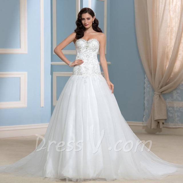 2016 Designer Real Image Wedding Dresses Diamond ...