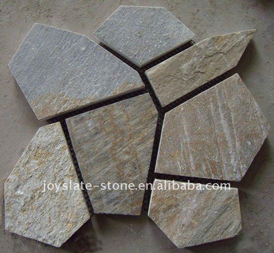 Устричный ржавый блокировки брусчатка конструкции