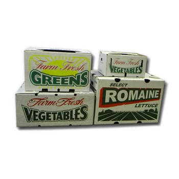 Top Recommend Carton Cardboard Waxed Boxes for Fresh Produce
