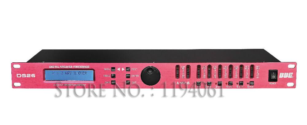 bbe ds26 professional loudspeaker management system speaker processor on. Black Bedroom Furniture Sets. Home Design Ideas