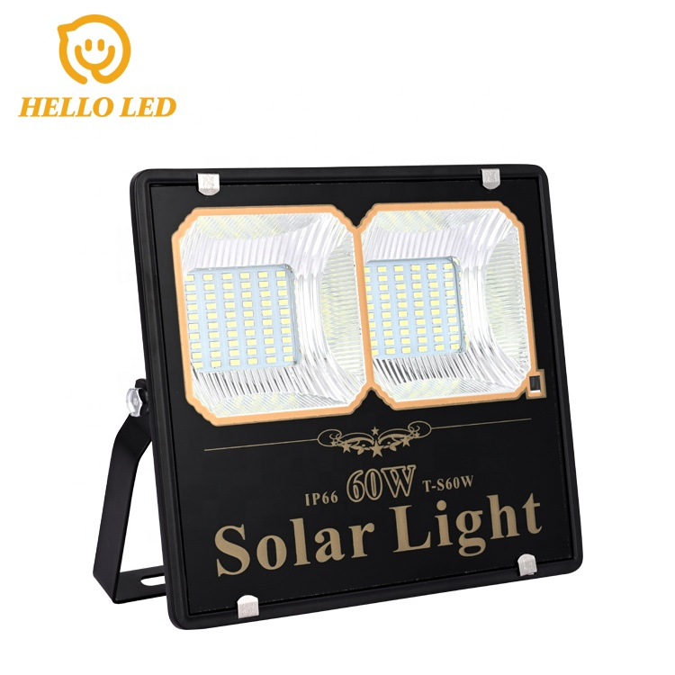 Hot Sale 60W LED Solar  Flood Light Made in  China with Cheap Factory Price